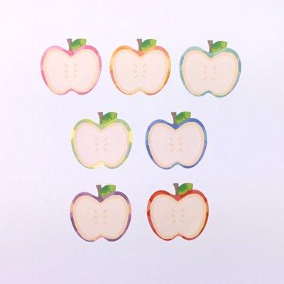 画像3: bande 書けるロールステッカー りんご