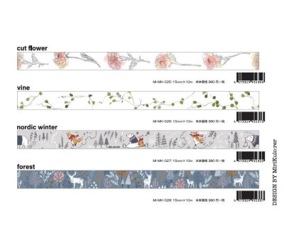 画像5: ROUND TOP MiriKulo:rer(ミリクローレル) DESIGN no.3 birds&flowers