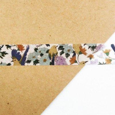 画像2: ROUND TOP MiriKulo:rer(ミリクローレル) DESIGN no.3 birds&flowers