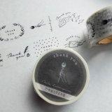 大枝活版室 paper&textil Thank you 7パターン