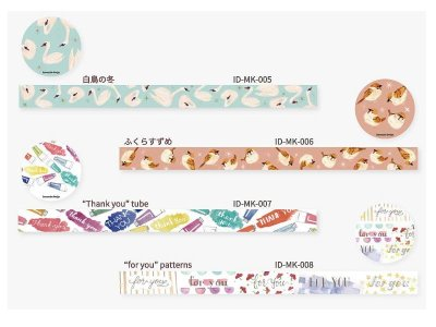 "画像3: ROUND TOP insomnia design ""Thank you"" tube"