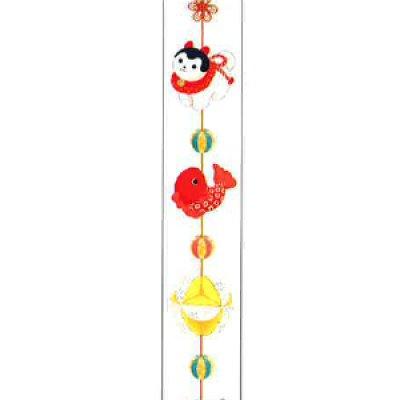画像1: ワールドクラフト たてマス つるし和飾り