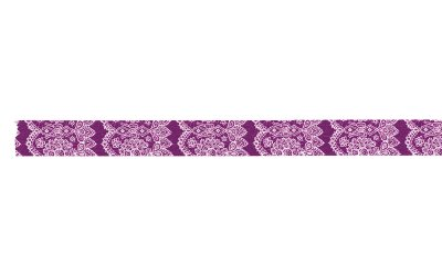 画像2: 倉敷意匠 レース 紫色【10%OFF】