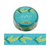ワールドクラフト キラキラマスキングテープ Mimosa