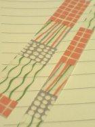 他の写真1: 縞格子水玉・薄紅(8mm)